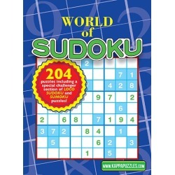 World of Sudoku Magazine Subscription, 6 Issues, Puzzles & Games magazines.com