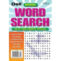 Dell Official Word Search Magazine Subscription, 6 Issues, Puzzles & Games magazines.com found on Bargain Bro Philippines from Magazines for $18.97