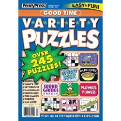 Good Time Variety Puzzles Magazine Subscription, 8 Issues, Puzzles & Games magazines.com found on Bargain Bro India from Magazines for $31.97