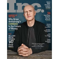 Inc. Magazine Subscription, 8 Issues, Business magazines.com found on Bargain Bro India from Magazines for $12.00
