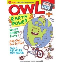 Owl Magazine Subscription, 10 Issues, Elementary magazines.com