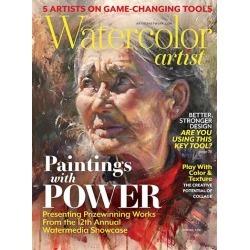 Watercolor Artist Magazine Subscription, 4 Issues, Art Instruction magazines.com