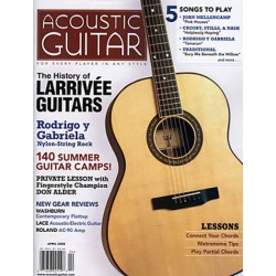 Acoustic Guitar Magazine Subscription, 6 Issues, Instruments & Performers magazines.com