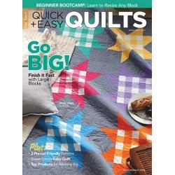 Quick & Easy Quilts Magazine Subscription, 6 Issues, Sewing & Needlework magazines.com