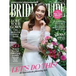 Bridal Guide Magazine Subscription, 6 Issues, Bridal & Weddings magazines.com