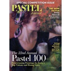 Pastel Journal Magazine Subscription, 4 Issues, Art Instruction magazines.com