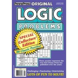 Original Logic Problems Magazine Subscription, 4 Issues, Puzzles & Games magazines.com