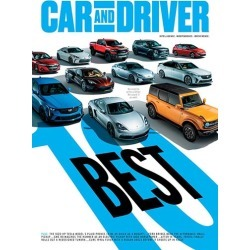 Car & Driver Magazine Subscription, 10 Issues, Cars magazines.com