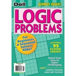 Dell Logic Problems Magazine Subscription, 4 Issues, Puzzles & Games magazines.com