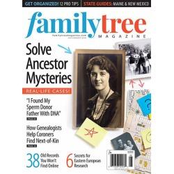 Family Tree Magazine Subscription, 6 Issues, History magazines.com