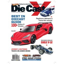 Die Cast X Magazine Subscription, 4 Issues, Collectibles magazines.com
