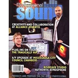 Professional Sound Magazine Subscription, 6 Issues, Instruments & Performers magazines.com