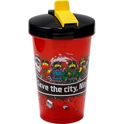 NINJAGO® Tumbler with Straw found on Bargain Bro Philippines from The Lego Store US for $6.39