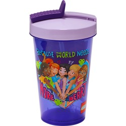 Friends Tumbler with Straw found on Bargain Bro Philippines from LEGO Brand Retail, Inc. CA for $6.08