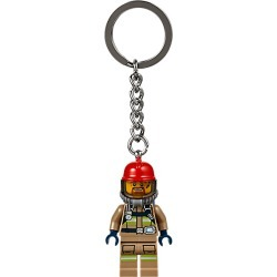 City Firefighter Key Chain found on Bargain Bro India from The Lego Store US for $4.99
