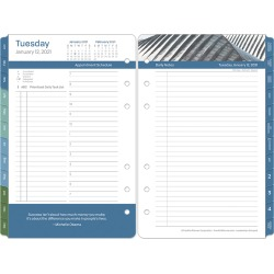 Compact Leadership Daily Ring-Bound Planner - Jan 2021 - Dec 2021 found on Bargain Bro Philippines from franklinplanner.com for $48.95