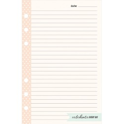 Compact Planner Love Lined Notepad - Splendor found on Bargain Bro Philippines from franklinplanner.com for $3.96