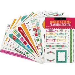 Essentials Borders & Frames Planner Stickers found on Bargain Bro Philippines from franklinplanner.com for $5.95