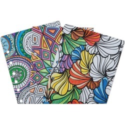 Compact Ring-bound Coloring Page Pack