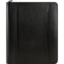 Monarch Brooks Leather Zipper Black Binder With Undated Weekly Planner and Accessories found on Bargain Bro Philippines from franklinplanner.com for $119.95