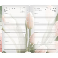 Pocket Blooms Weekly Ring-Bound Planner - Jan 2021 - Dec 2021 found on Bargain Bro Philippines from franklinplanner.com for $30.95