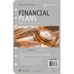 Compact Financial Plans Supplement found on Bargain Bro India from franklinplanner.com for $7.95