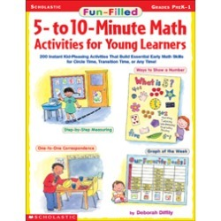 Fun-Filled 5- to 10-Minute Math Activities for Young Learners