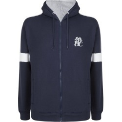 NVY/GRY XL FULL ZIP THFC HOODIE