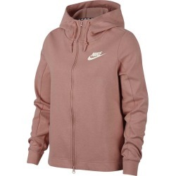 PINK M NK LDS NSW OPTIC F/ZIP HOODIE 2018/19