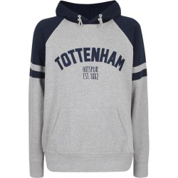 GRY/NVY XL TOTTENHAM APPLIQUE OVERHEAD HOODIE