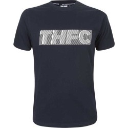 NAVY 2XL THFC RUBBER PRINTED TEE