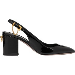 Slingback Patent Leather Pump 70 MM