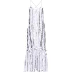 White Saba Sun Dress found on MODAPINS from shop bazaar for USD $395.00