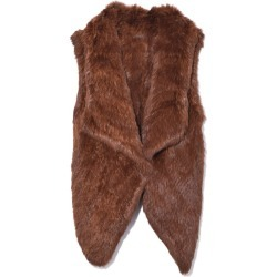 Knitted Rabbit Vest in Golden Brown found on MODAPINS from shop bazaar for USD $500.00