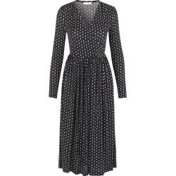 Alina Dress in Oval Dot