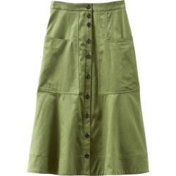Harrison Chino Patch Pocket Skirt in Army Green found on MODAPINS from shop bazaar for USD $395.00