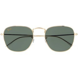 Frank square-frame gold-tone sunglasses found on MODAPINS from shop bazaar for USD $154.00