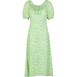 Lira Floral-Print Midi Dress found on MODAPINS from shop bazaar for USD $200.00