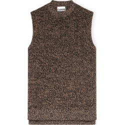 Cashmere Mix Vest in Tiger's Eye found on MODAPINS from shop bazaar for USD $325.00