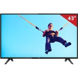 "Smart TV LED 43"" 43PFG5813 Philips, Full HD HDMI USB com Sistema SAPHI e Wi-Fi Integrado"