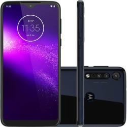 Smartphone Motorola One Macro XT2016, Android 9.0 64GB Câmera Traseira Tripla Tela 6.2
