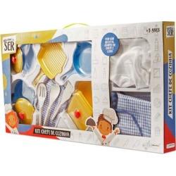Brincando de Ser Kit Chefe de Cozinha Multikids BR957