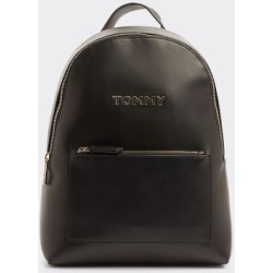 Tommy Hilfiger Women's Iconic Tommy Backpack Black -