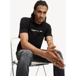 Tommy Hilfiger Men's Logo T-Shirt Tommy Black - M