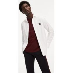 Tommy Hilfiger Men's Lewis Hamilton Organic Cotton Oxford Shirt Snow White - XS