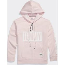 Tommy Hilfiger Women's Adaptive Tommy Hoodie Proud Pink - XXL