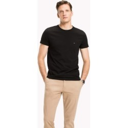 Tommy Hilfiger Men's Slim Fit Stretch T-Shirt Flag Black - S found on Bargain Bro Philippines from Tommy Hilfiger for $35.50