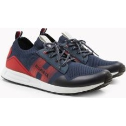 Tommy Hilfiger Men's Knit Sneaker Navy/Red Logo - 11.5 found on Bargain Bro India from Tommy Hilfiger for $100.00