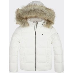 Tommy Hilfiger Girl's Kids Fur Lined Jacket Bright White - 14 found on Bargain Bro India from Tommy Hilfiger for $159.50