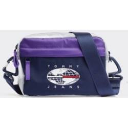 Tommy Hilfiger Men's Tommy Jeans Expedition Crossover Bag Royal Purple / Black -